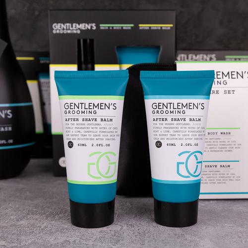 Gentlemen's Grooming Geschenkpakket mannen - Gentlemen's Grooming - Cool Mint & Lime - met toilettas