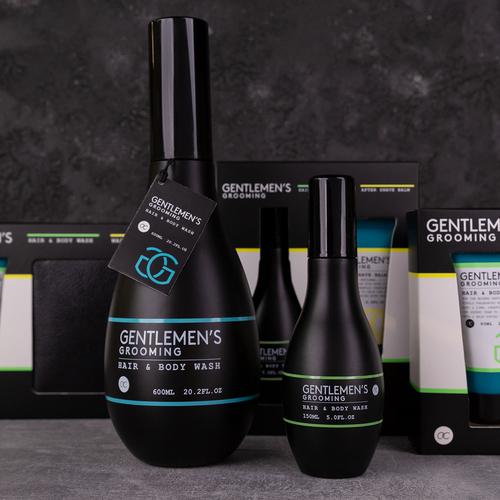 Gentlemen's Grooming Grote Hair & Body Cadeau - Gentlemen's Grooming - Cool Mint & Lime - 600ml - Stoer cadeau