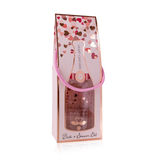 Heart Cascade Romantisch Champagne bad cadeau - Heart Cascade - Magnolia Dream