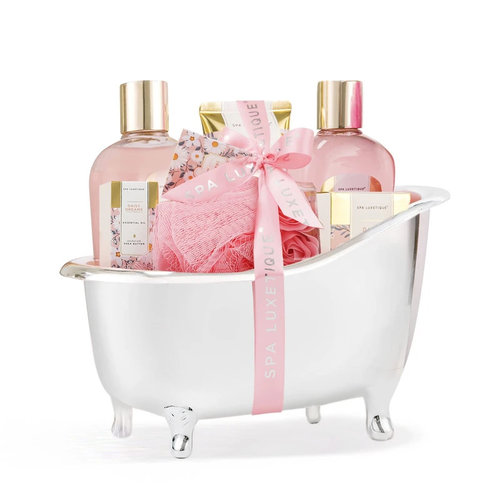 Spa Luxetique Cadeauset dames in badkuip - Daisy Dreams - Wellness geschenk