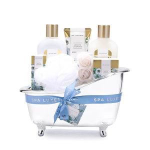 Spa Luxetique Wellness pakket in grote badkuip - White Jasmine