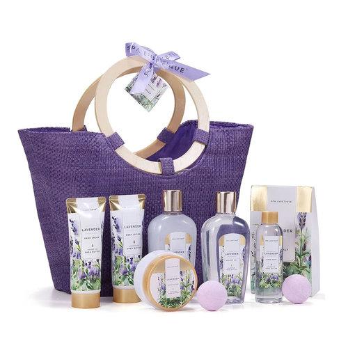Spa Luxetique Geschenkset lichaam XL voor haar - Lavender Everyday - Cadeaumand