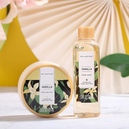 Spa Luxetique Cadeaumand & Tas dames XL - Vanilla Everyday - Cadeaupakket voor haar