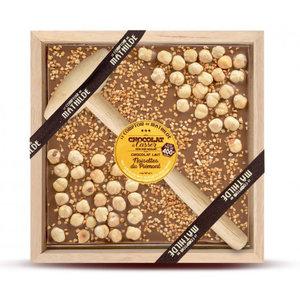 Comptoir de Mathilde Chocolade cadeaupakket - Melk Chocolade en Hazelnoot
