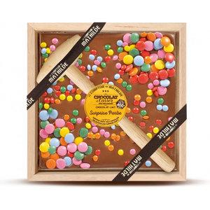 Comptoir de Mathilde Chocolade geschenkset - Melk Chocolade en Choco Snoepjes