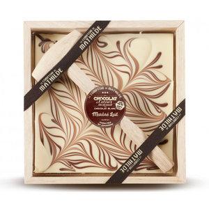 Comptoir de Mathilde Chocolade cadeaupakket met hamer - Witte Chocolade
