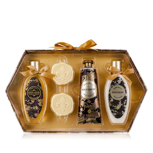 Body Luxury Huidverzorging set - Body Luxury - Warm Vanilla - Cadeaupakket voor vrouwen