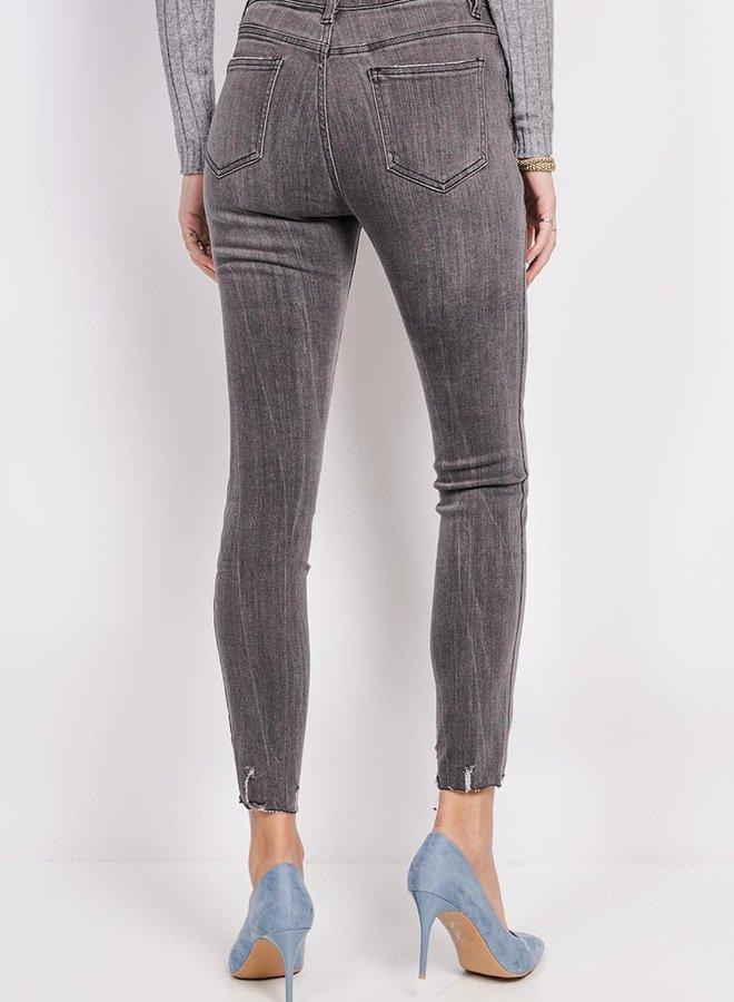 Lakita Ripped Jeans Grey