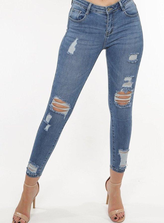 Lakita Ripped Jeans Blue