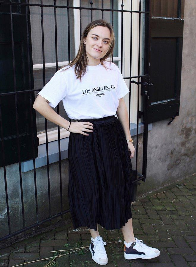 Noor Midi Skirt Black