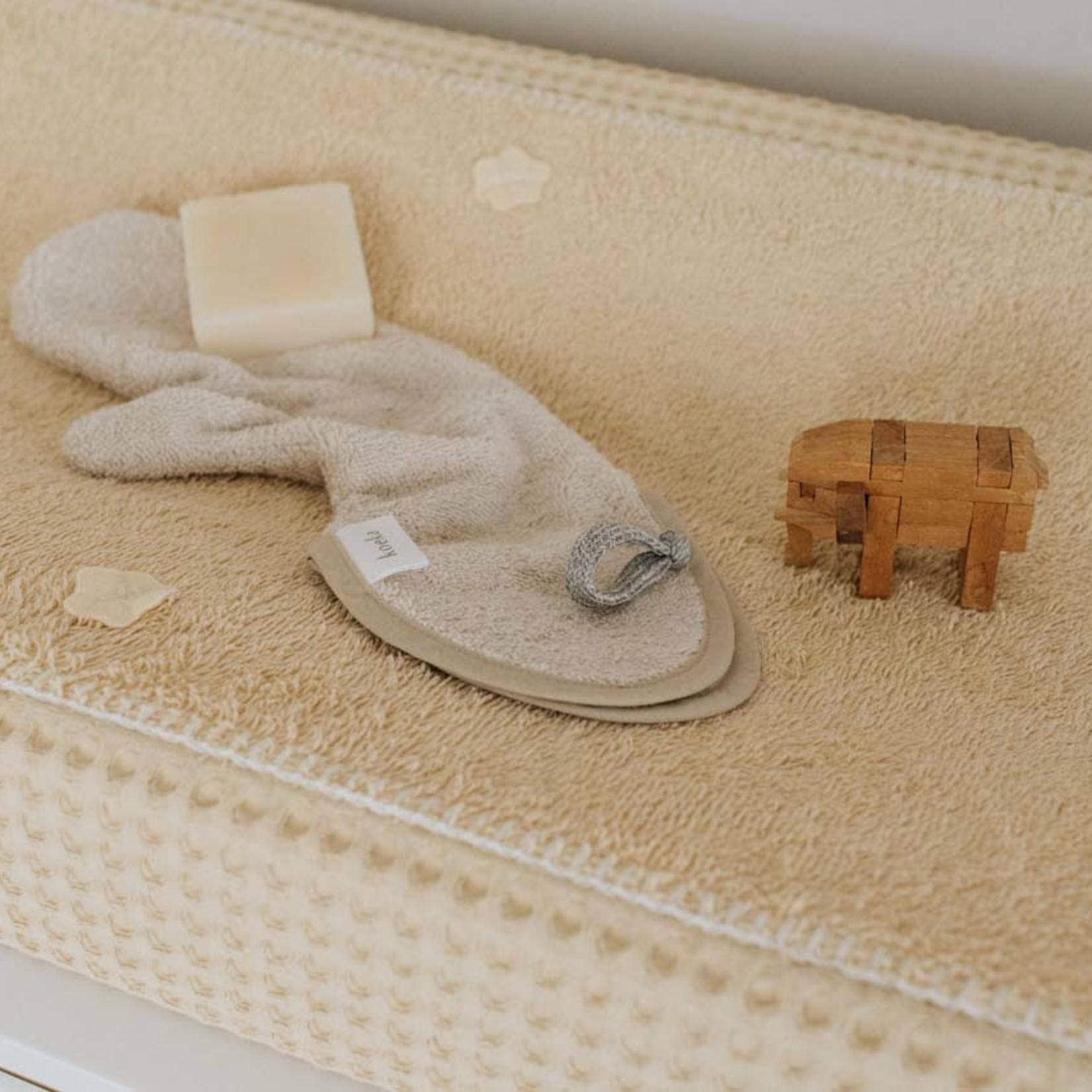 KOEKA Douche washand Dijon organic   Sand