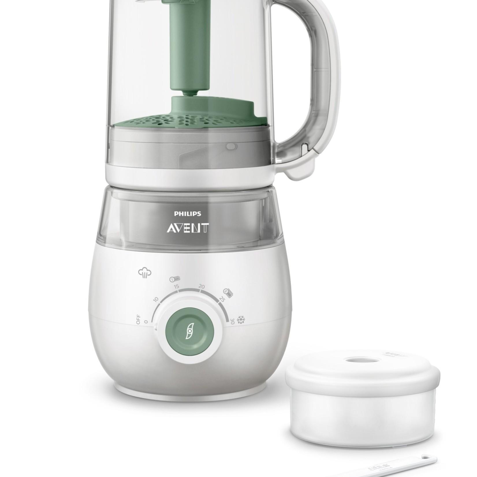 Philips-Avent Steamer/Blender 4-in-1 groen