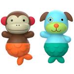 SKIP HOP Zoo Mix & Match Flippers- Monkey/Dog