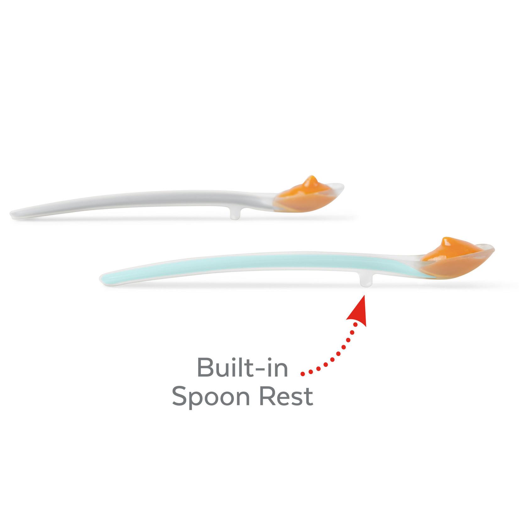 SKIP HOP Easy Feed spoons Grey/Soft Teal