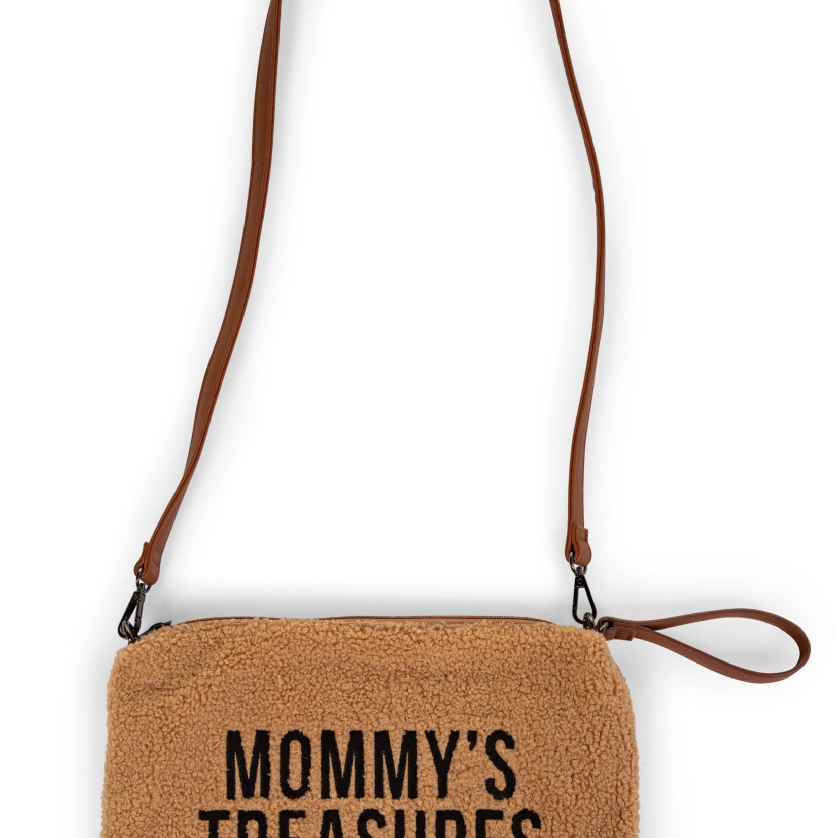 Childhome MOMMY CLUTCH TEDDY BEIGE