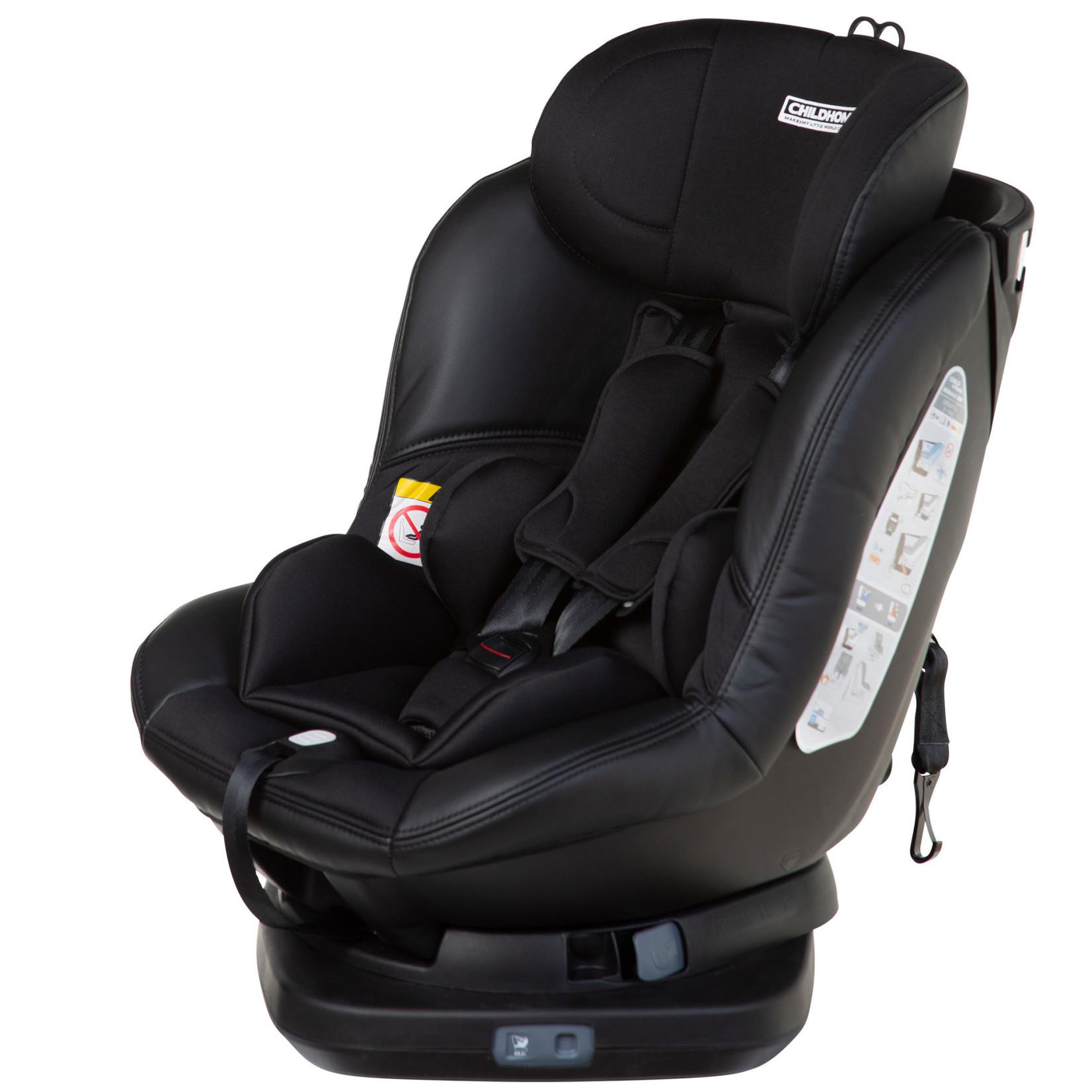 Childhome ISOMAX 360° AUTOSTOEL GR O+1 ISOFIX BLACK