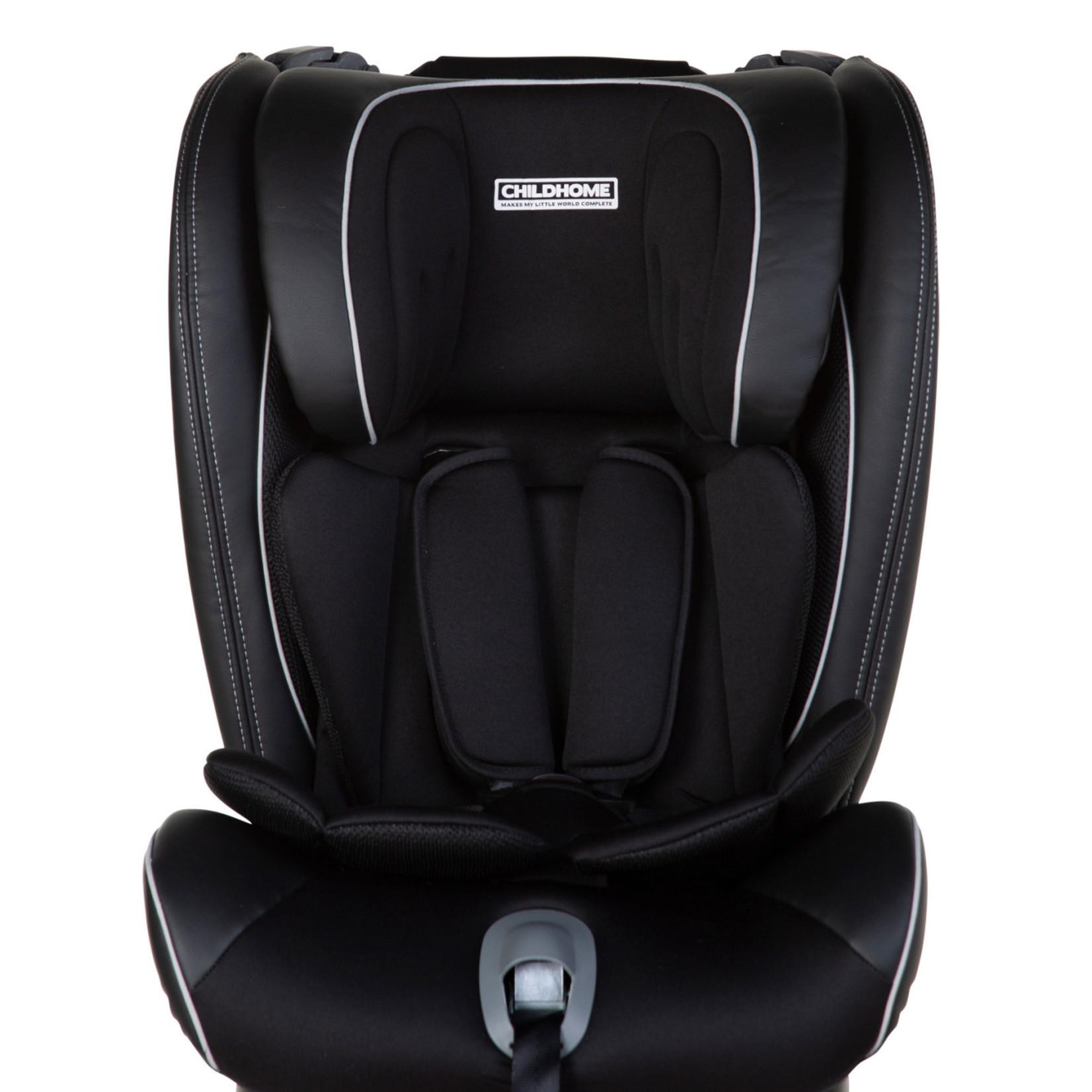 Childhome ISOKID AUTOSTOEL GR 1/2/3 ISOFIX BLACK