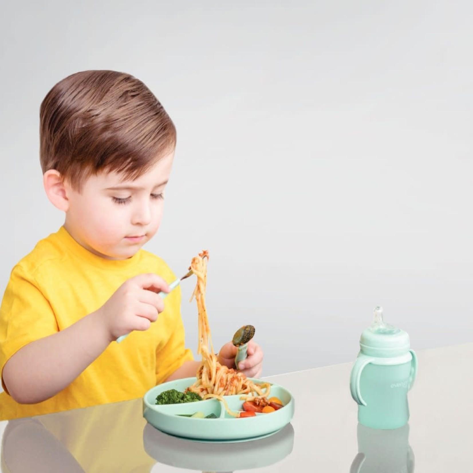 Everyday Baby SILICONE BORD LICHTGRIJS
