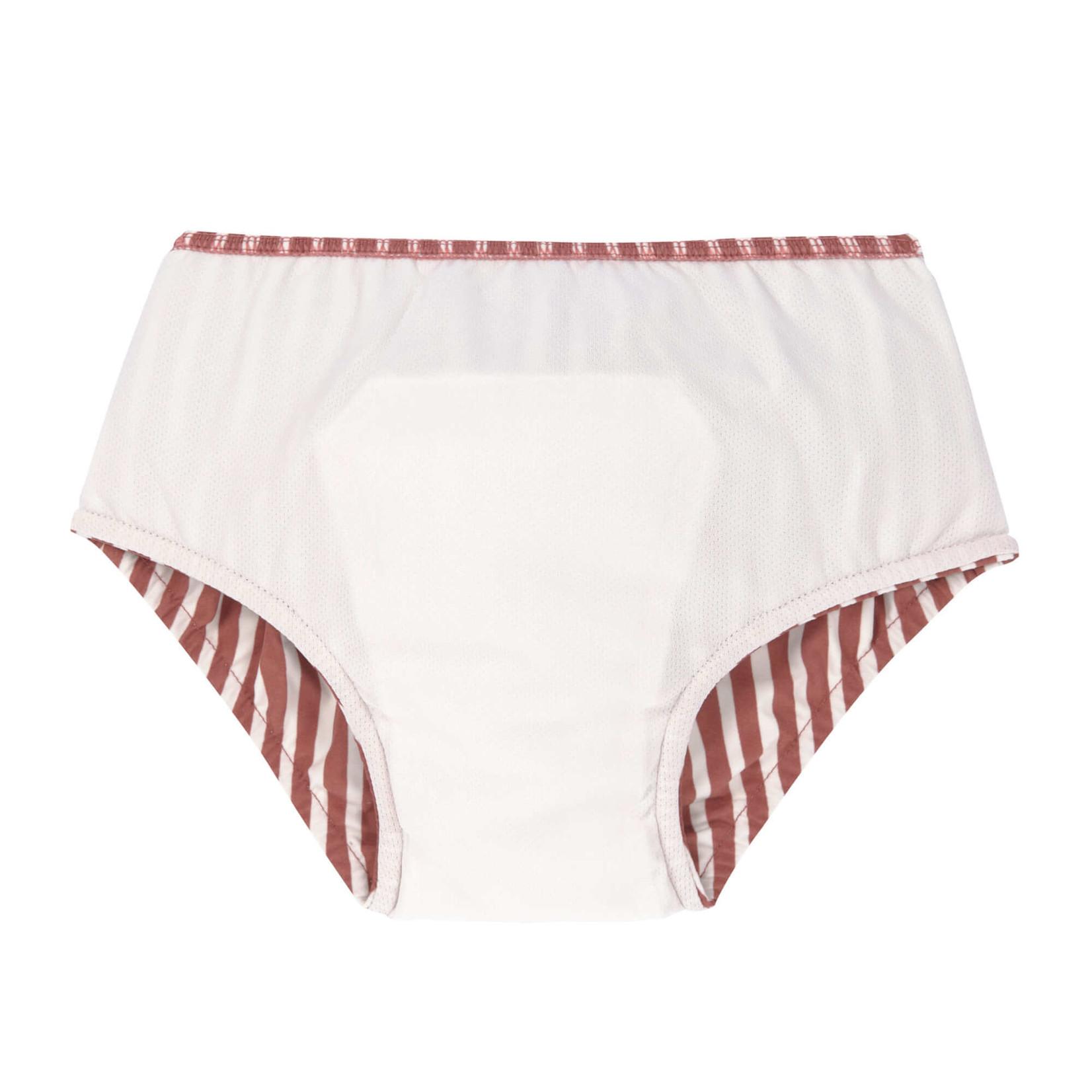 Lässig LSF Swim Diaper Girls  Stripes Red