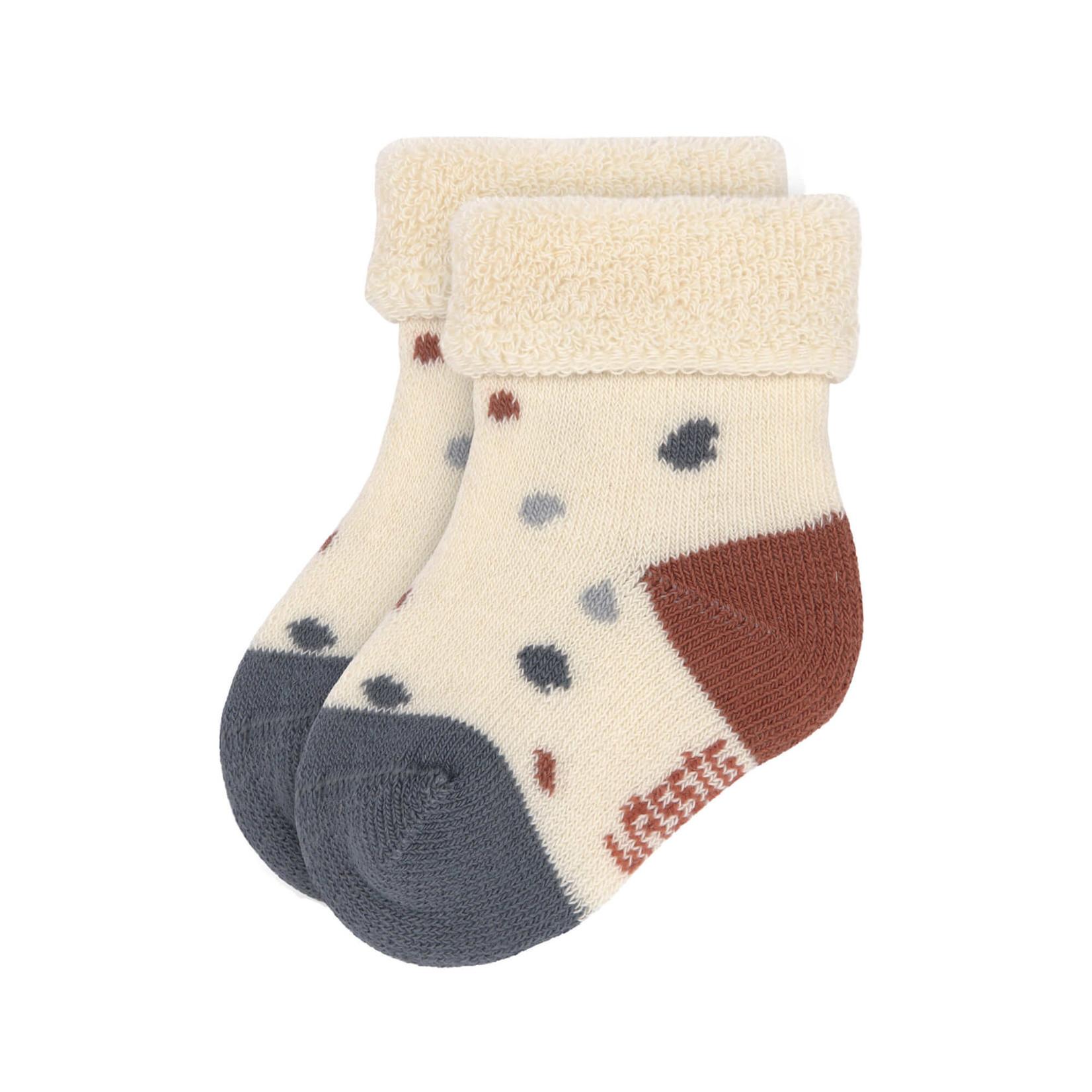 Lässig Newborn Socks Gots 3pcs assorted Tiny Farmer