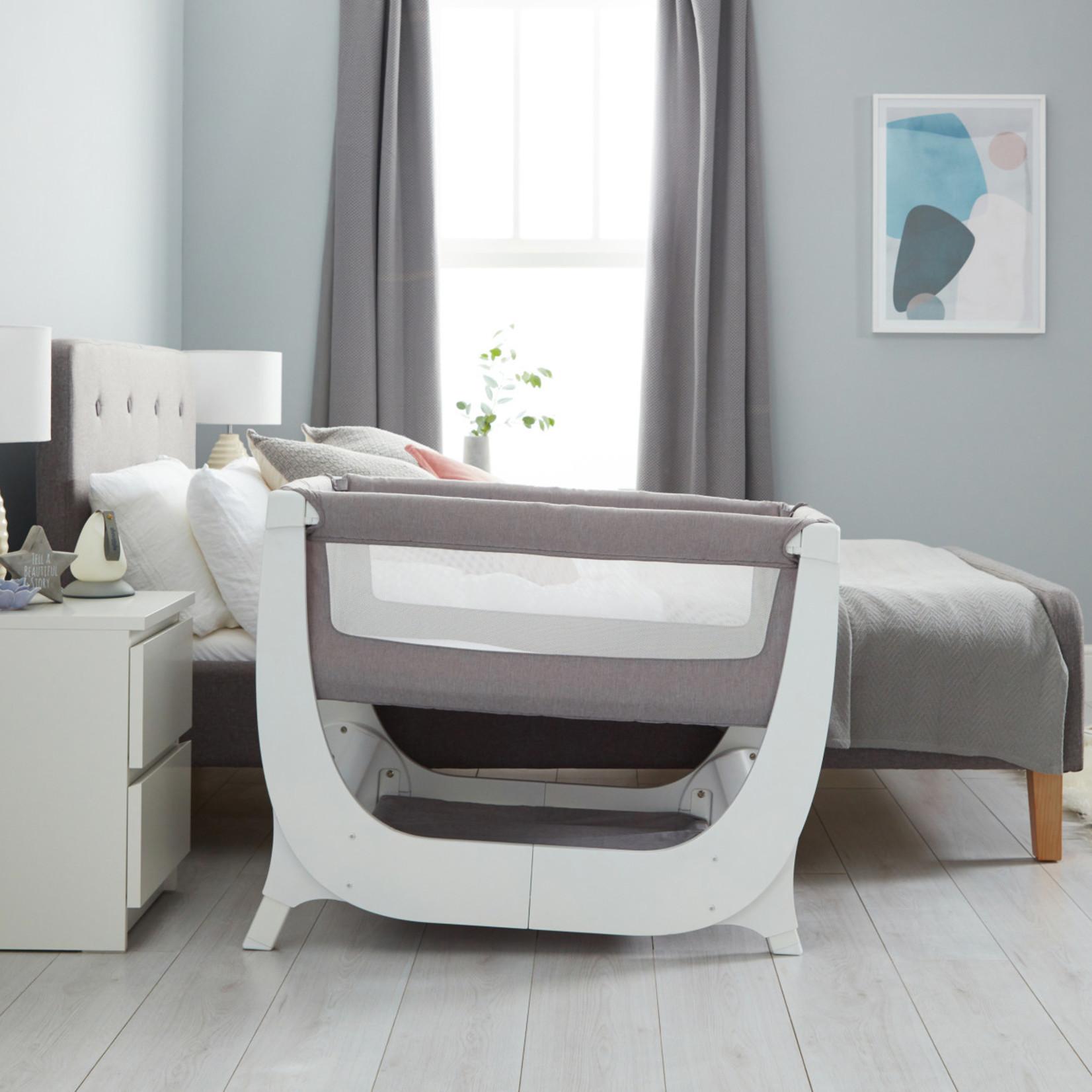 Shnuggle Shnuggle Air Bedside Sleeper Dove Grey