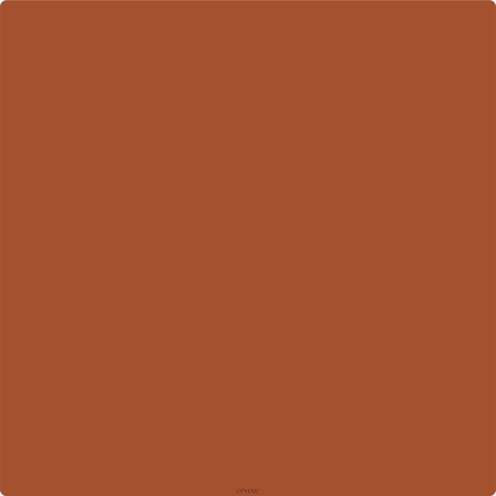 Eeveve Eeveve Square Splash Mat Rust