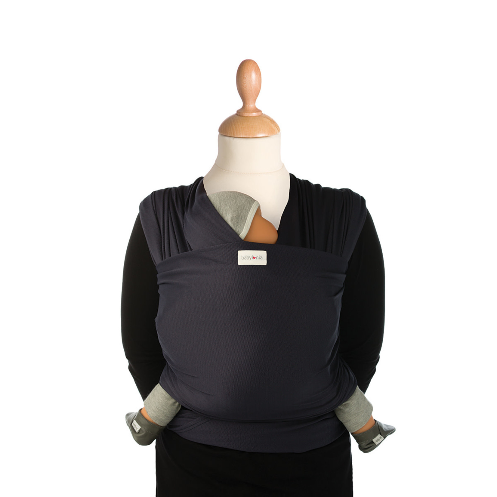 Babylonia baby carriers Babylonia baby carriers - Tricot-Slen Cool - Navy blue - One size