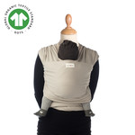 Babylonia baby carriers Babylonia baby carriers - Tricot-Slen Organic - White pepper (sable) - One size