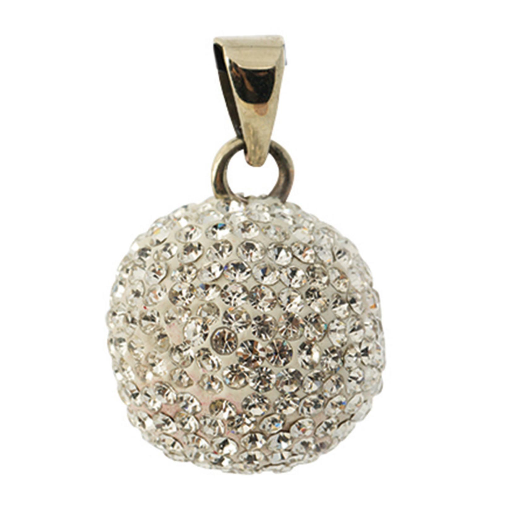 Bola Bola - Babylonia Bola - Verzilverd met glitter steentjes - One size