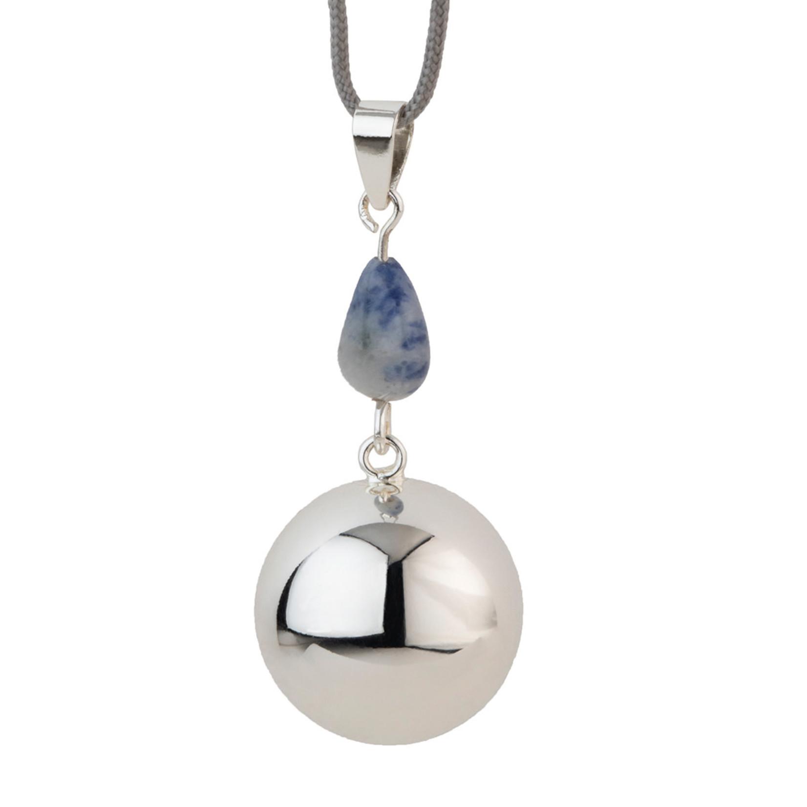 Bola Bola - Babylonia Bola - Silver bluegrey stone - One size