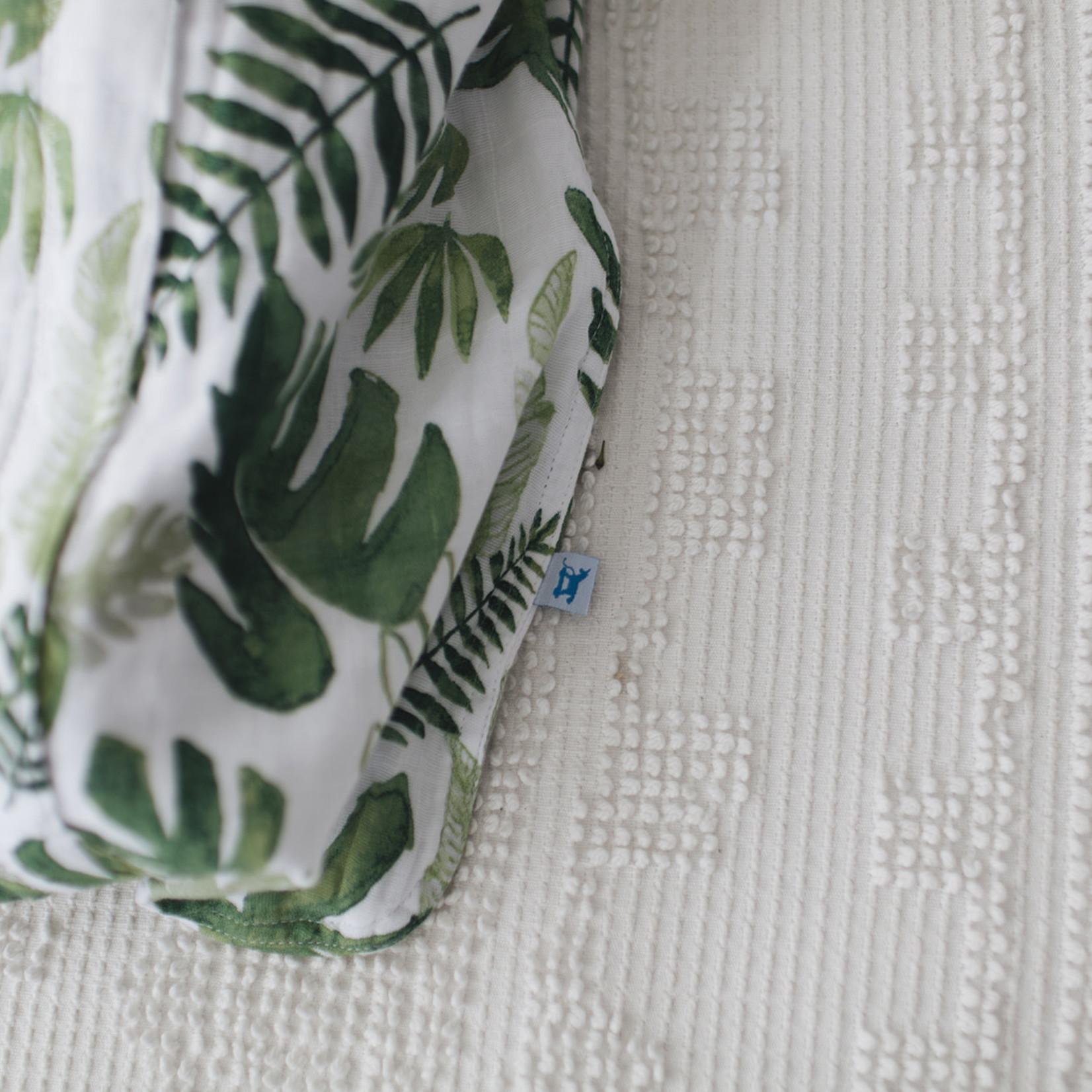 Little Unicorn Katoenen Tetra Slaapzak - Tropisch blad - Small