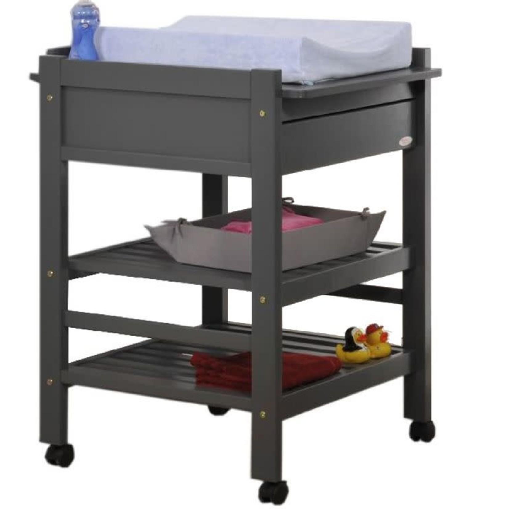 Troll Loft verzorgingstafel   Seal grey