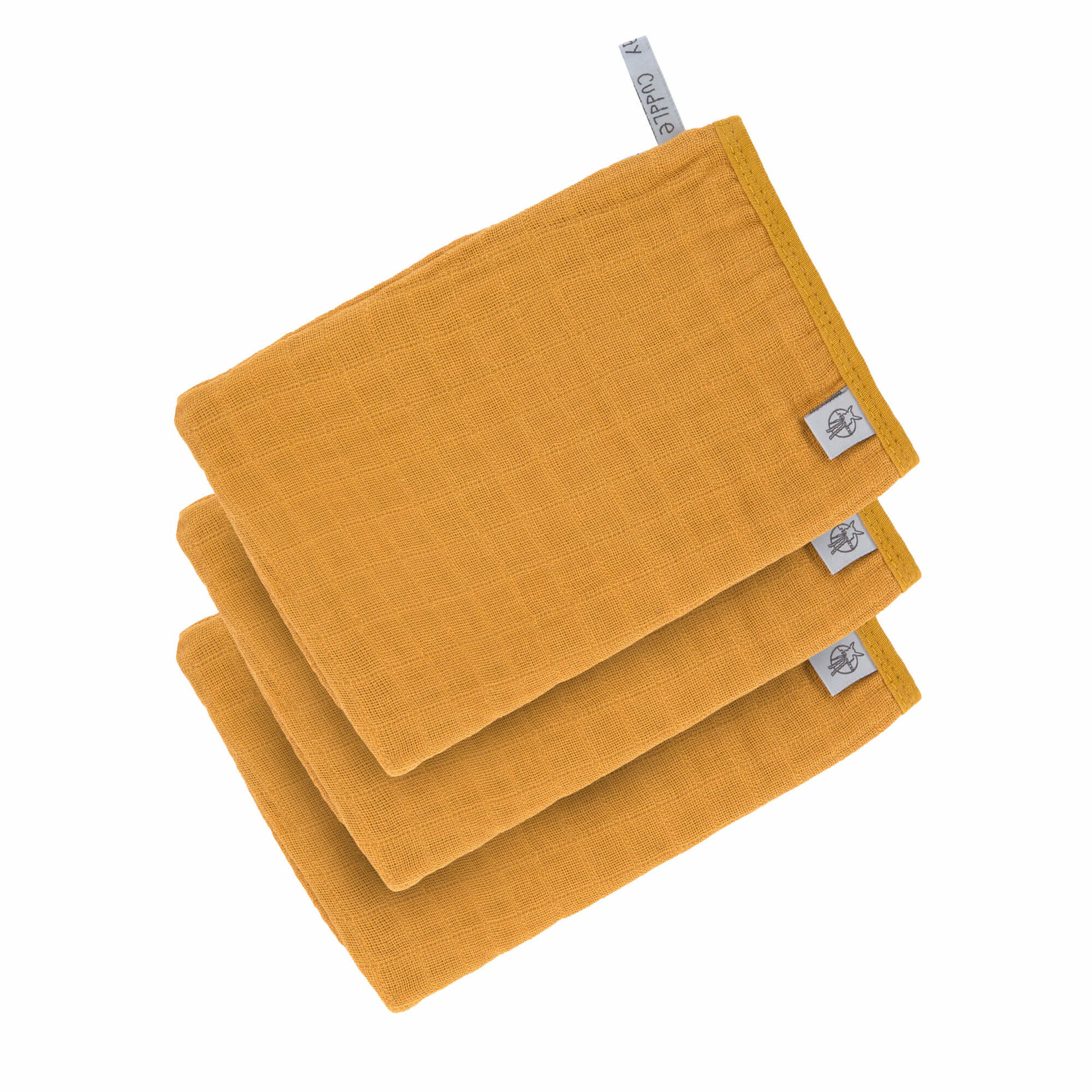 Lässig Muslin Wash Gloves Set 3 pcs