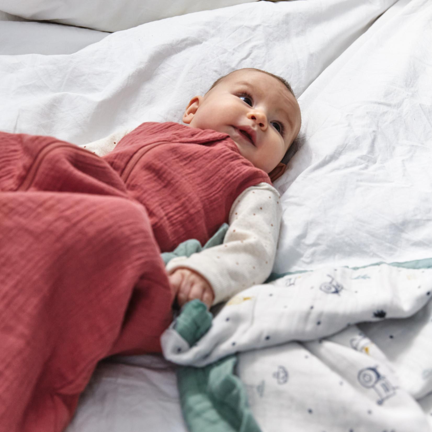 Lässig Muslin baby sleeping bag gots