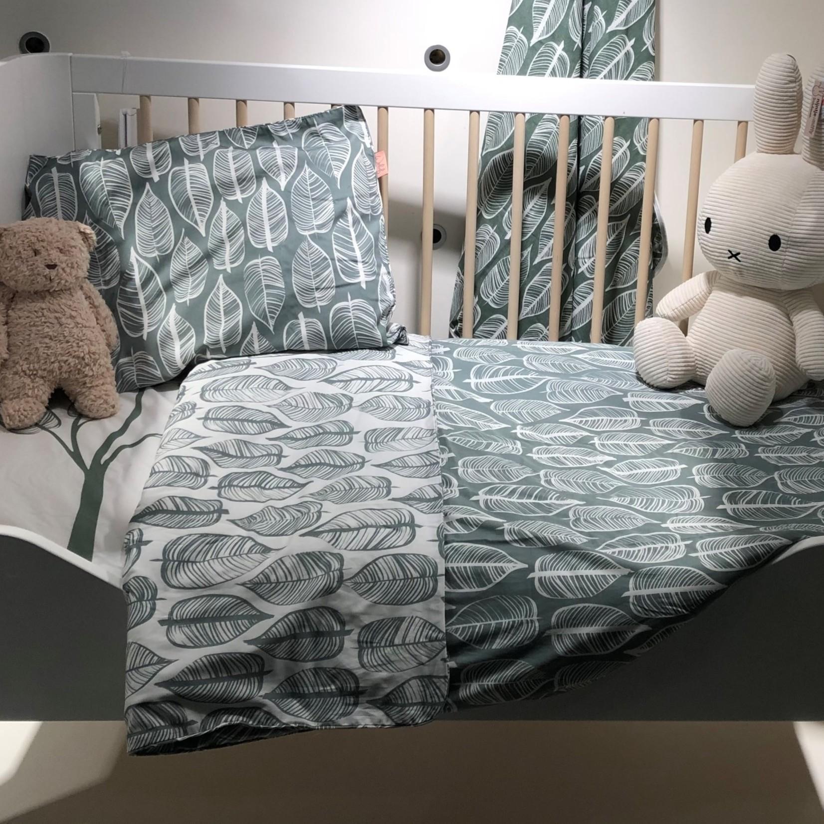 Troll Toddler kant voor bed wit-natuur