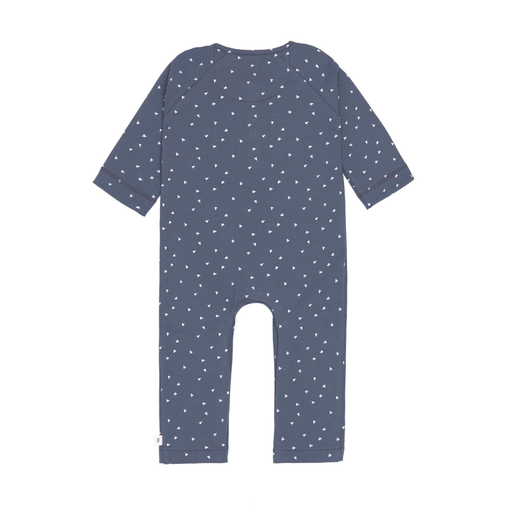 Lässig Overall Gots  Triangle Blue