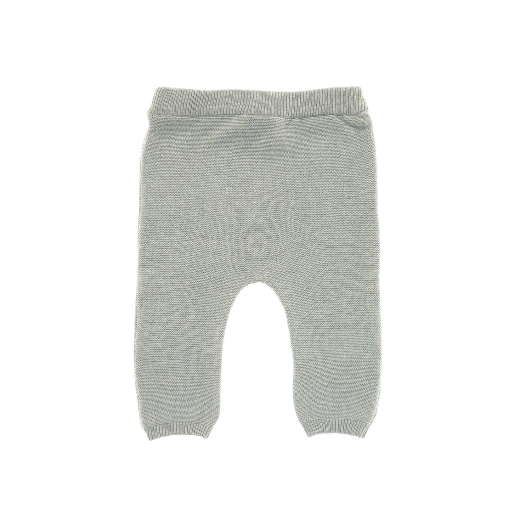 Lässig Knitted pants Gots  Garden Explorer   Aqua Grey