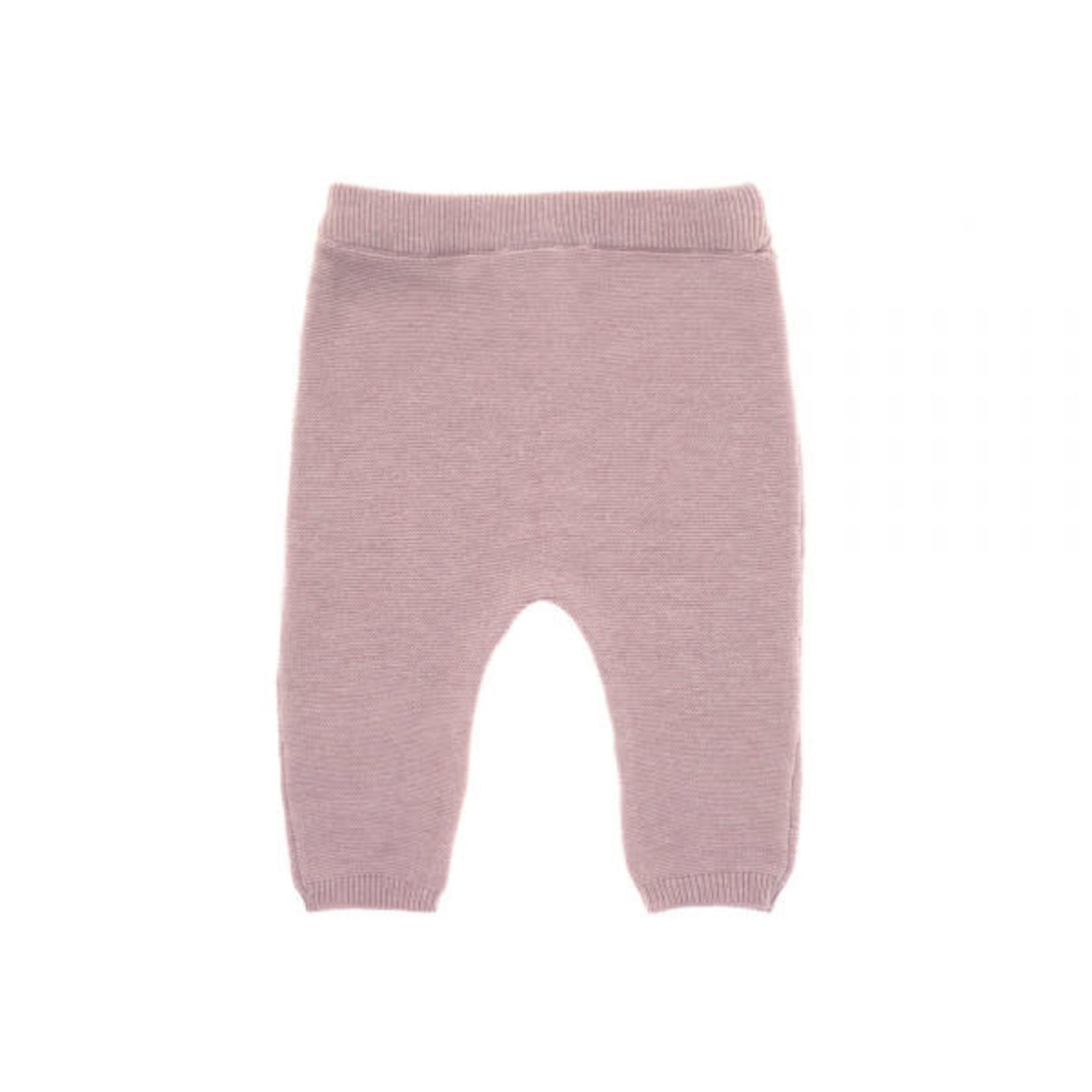 Lässig Knitted Pants Gots  Garden Explorer  Light Pink
