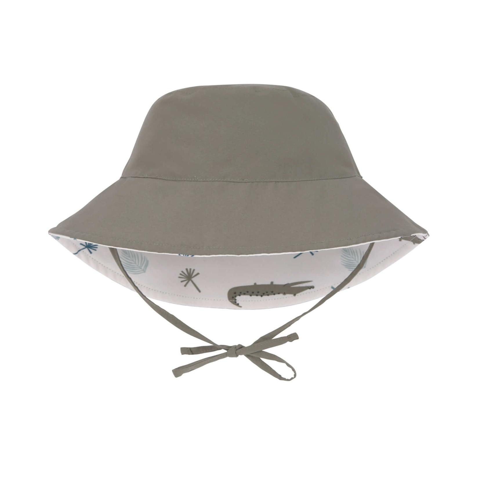 Lässig LSF Sun Protection Bucket Hat  Crocodile White