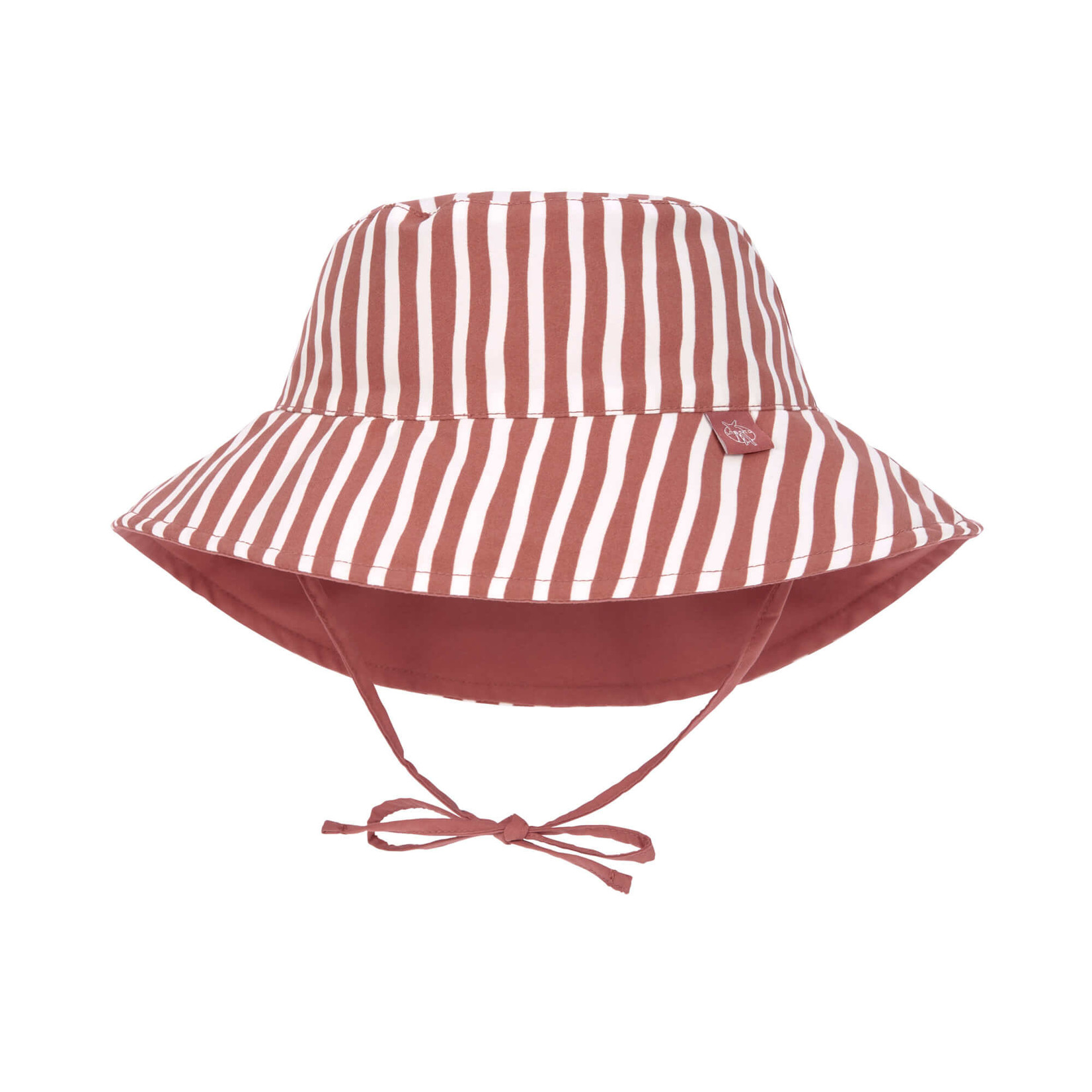 Lässig LSF Sun Protection Bucket Hat  Stripes Red
