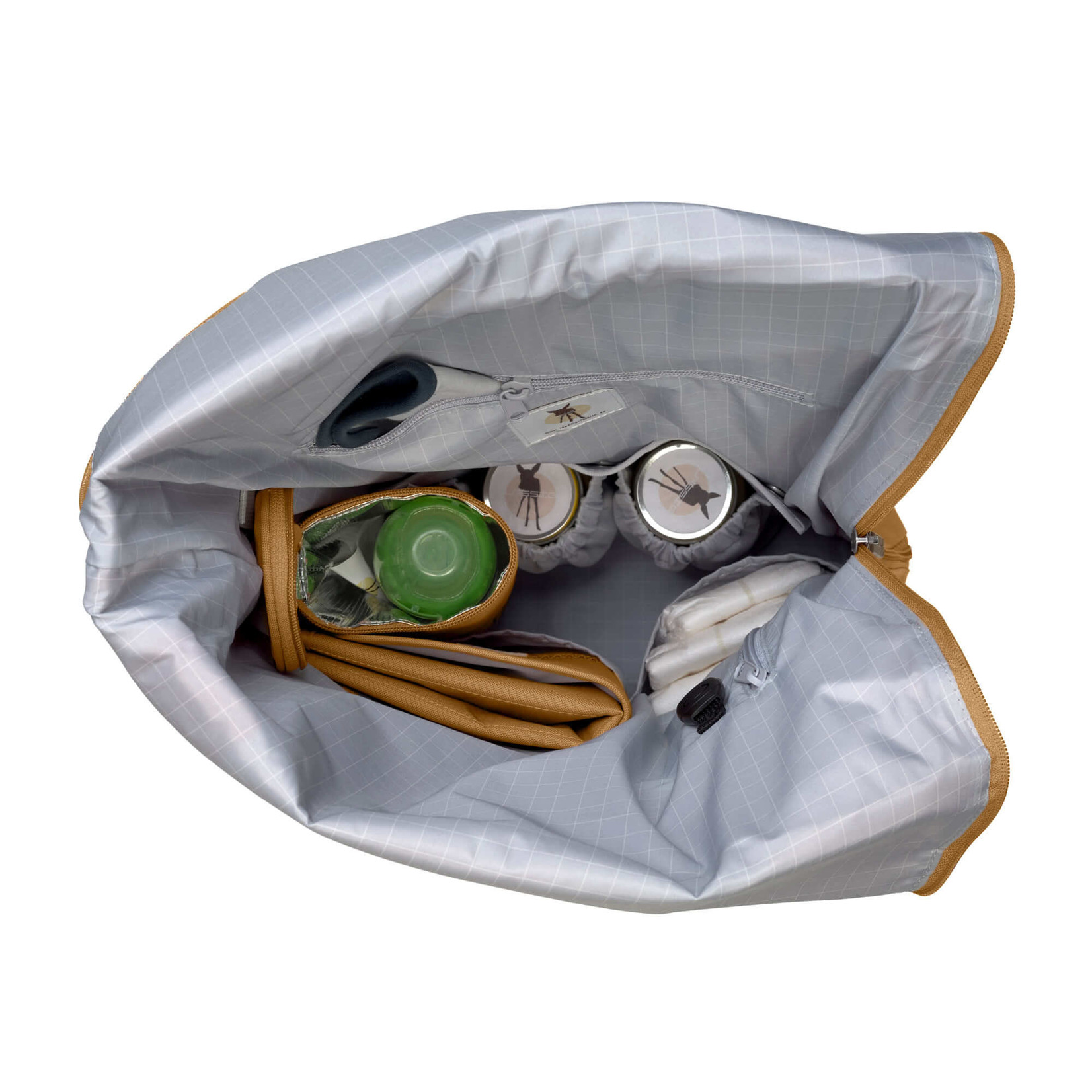 Lässig GRE Rolltop Backpack Curry