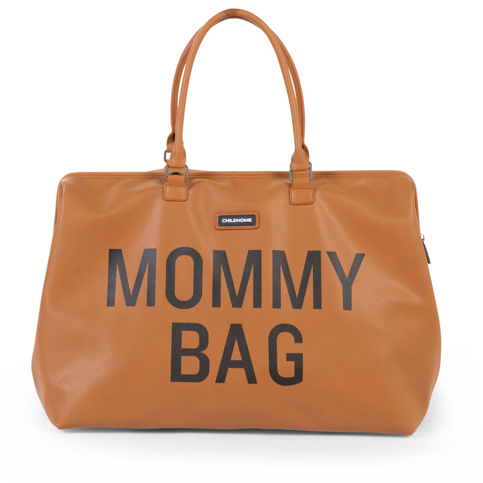 Childhome Mommy Bag Big Leatherlook Bruin