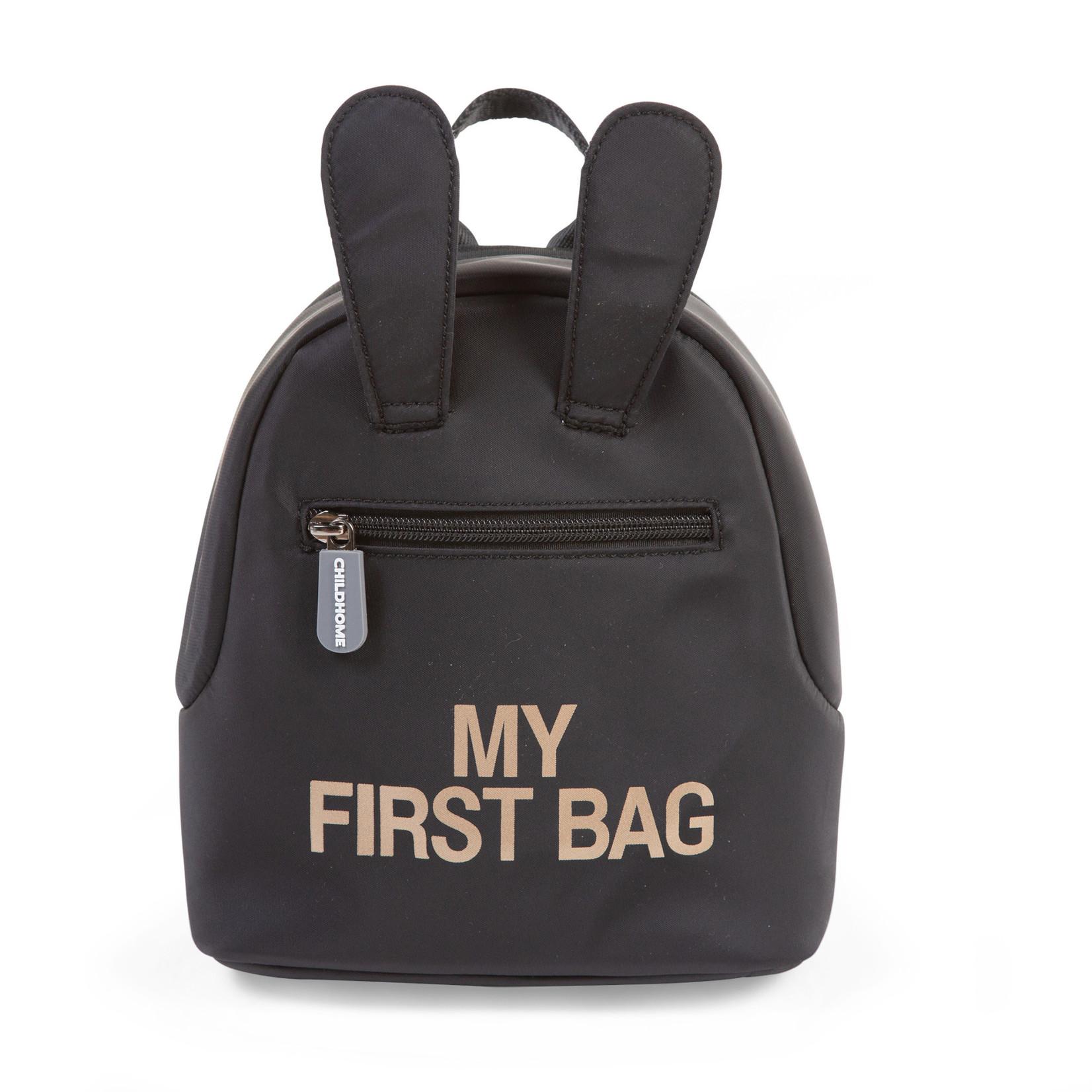 Childhome kids My First Bag Zwart/Goud