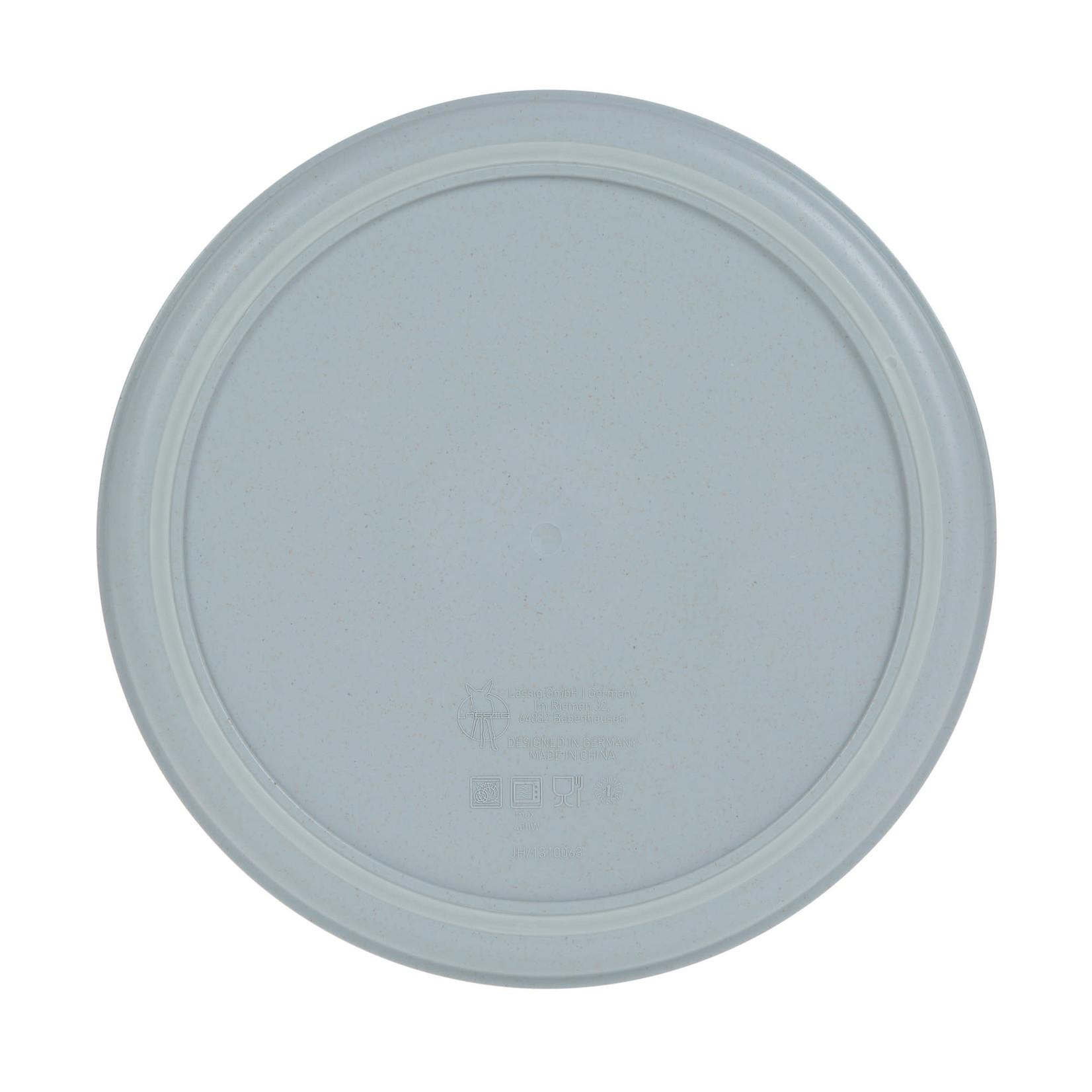 Lässig Plate P/Cellulose Tiny Farmer Sheep/Goose Blue