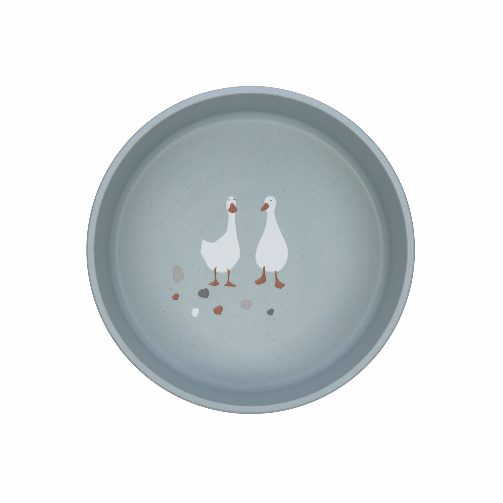 Lässig Bowl PP/Cellulose Tiny Farmer Sheep/Goose Blue