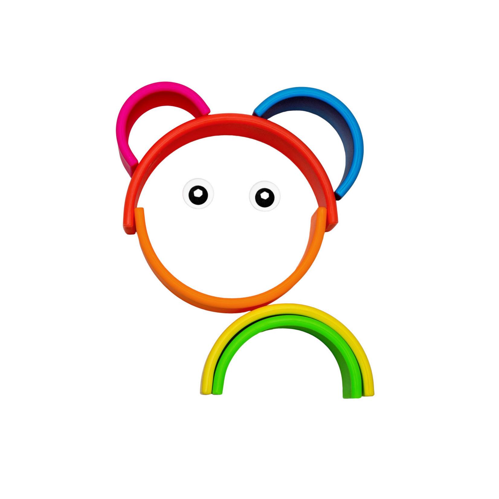 DENA 6 Rainbow Neon