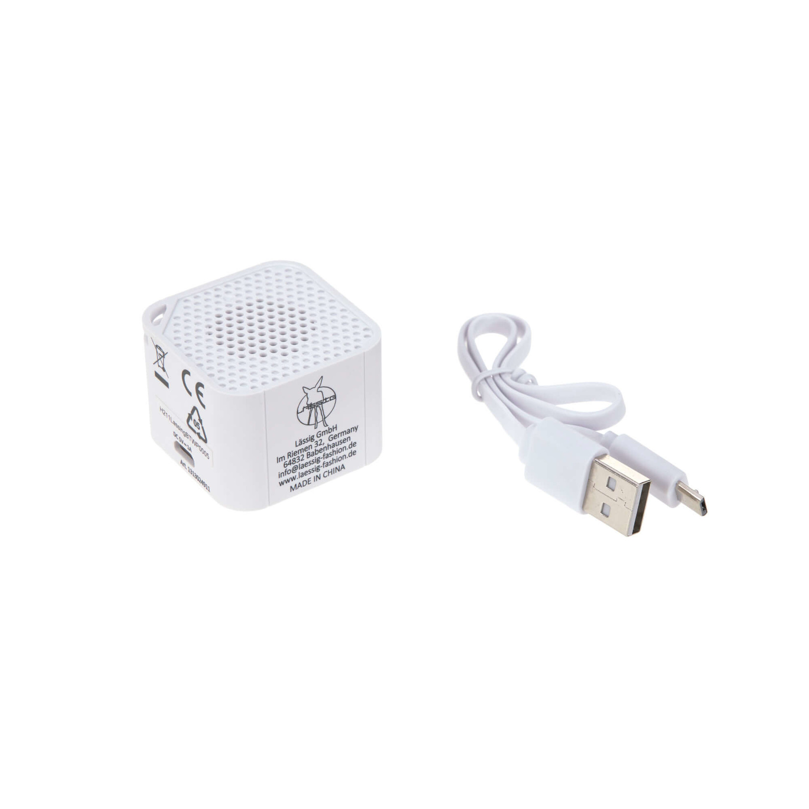 Lässig Digital Music Box with Bluetooth Speaker and USB Cable Tiny Farmer Goose