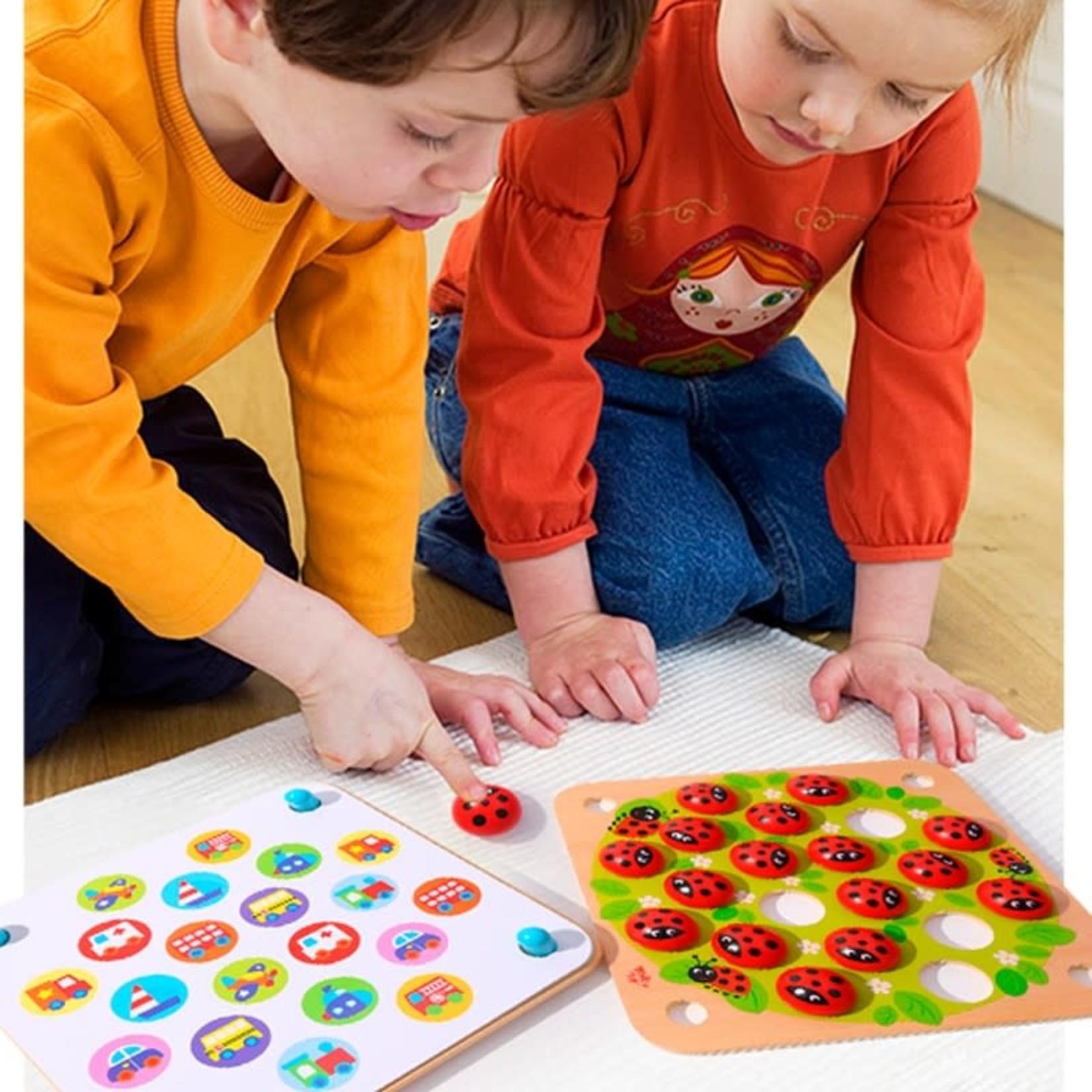 Tooky Toy Memory Game - Ladybug