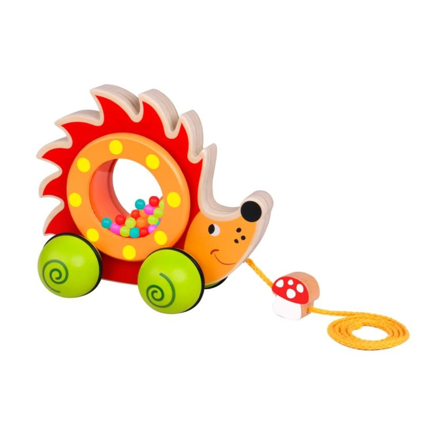Tooky Toy Pull Along - Baby Hedgehog