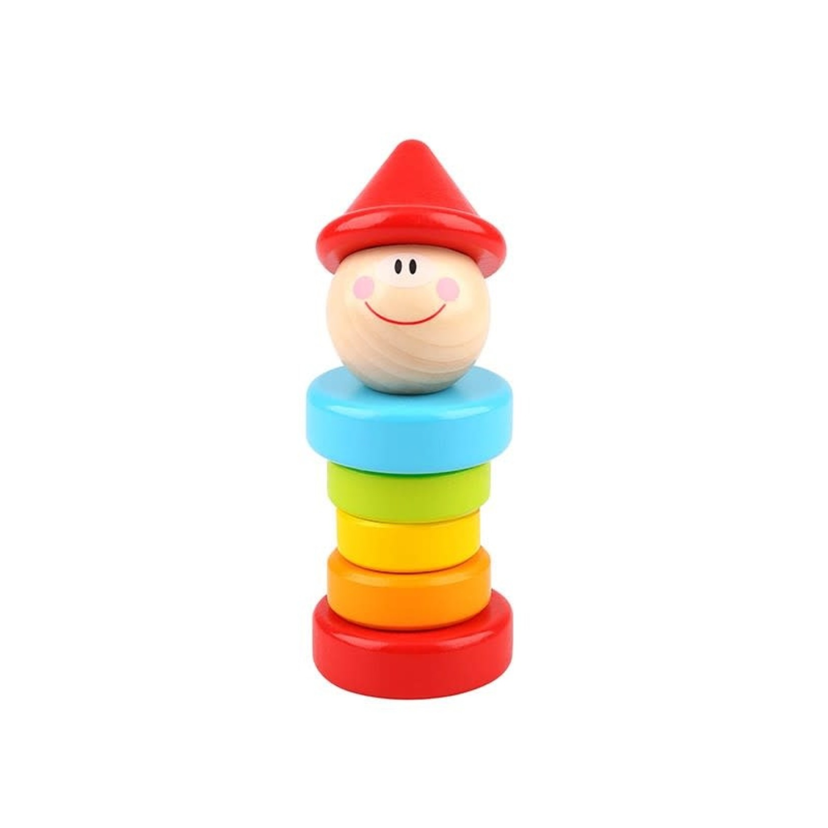 Tooky Toy Clown Rattle